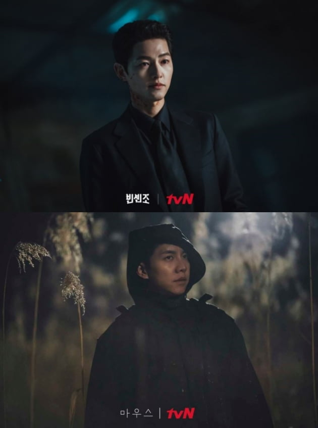 /사진=tvN 드라마 '빈센조'(위), '마우스' 현장 스틸컷
