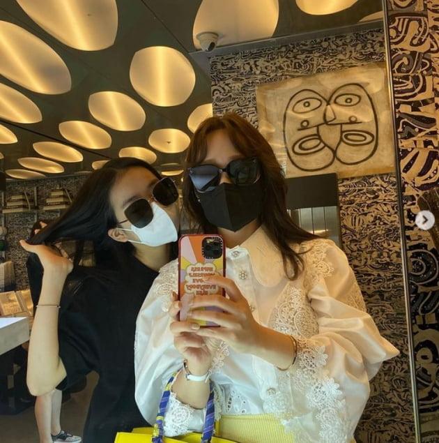 박명수 아내 한수민과 딸 민서./ 사진=인스타그램