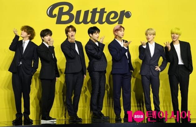 [TEN 포토]방탄소년단(BTS) '버터로 돌아온 월드스타'