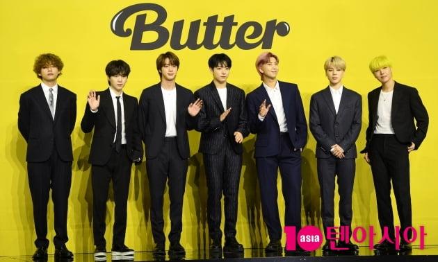 방탄소년단 'Butter', 英 오피셜 차트 톱100 3위 [공식]