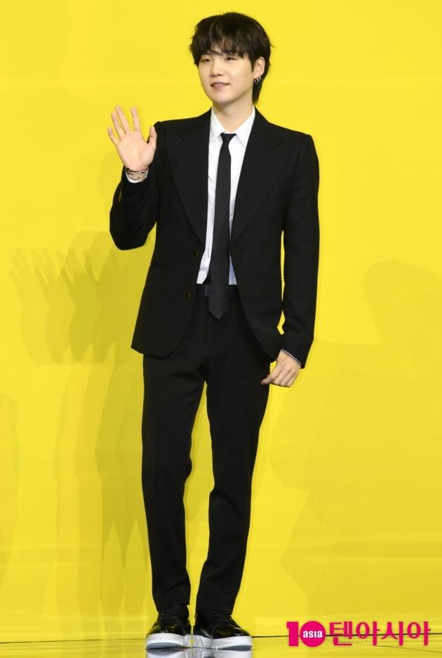 [TEN 포토]방탄소년단(BTS) 슈가 '아름다운 미소'