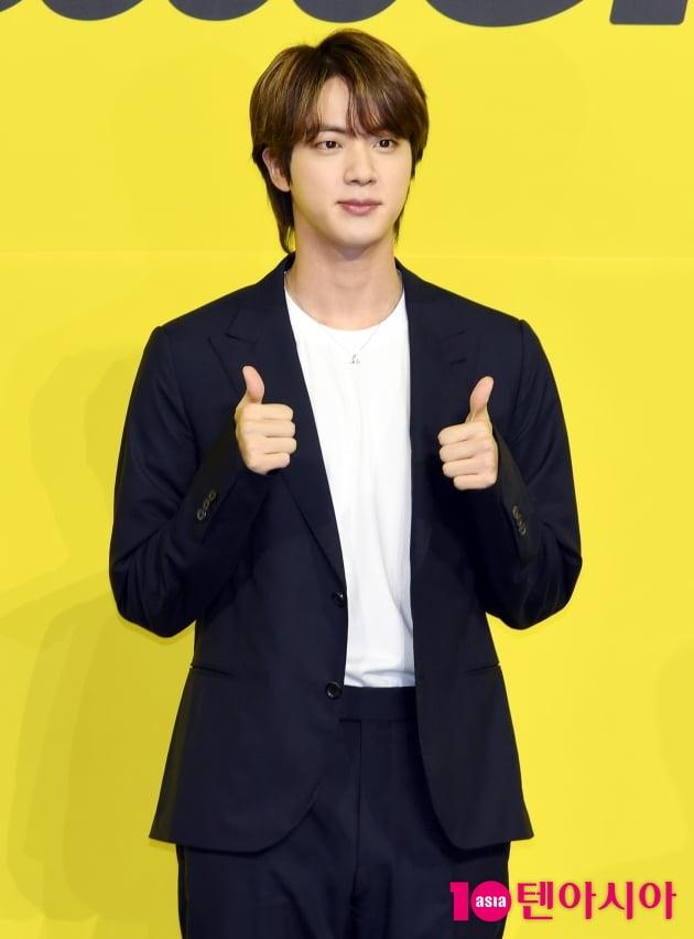 [TEN 포토]방탄소년단(BTS) 진 ''버터' 최고!!'