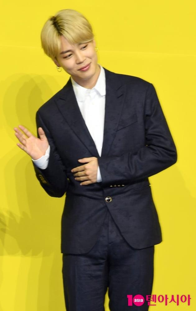 [TEN 포토]방탄소년단(BTS) 지민 '안구정화 표정'