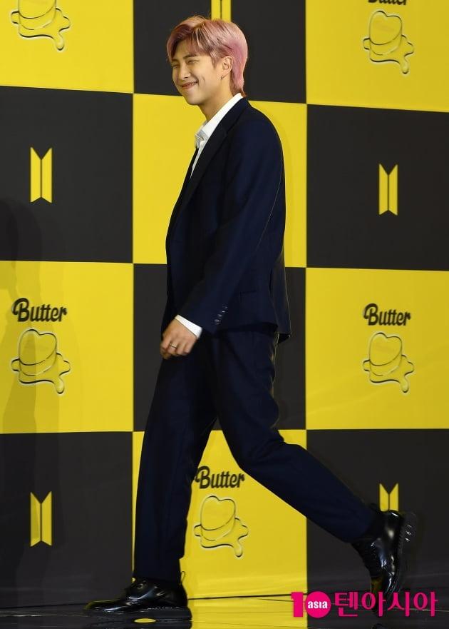 [TEN 포토]방탄소년단(BTS) RM '싱글벙글~'