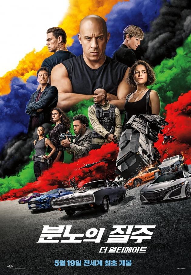 영화 '분노의 질주' 포스터./