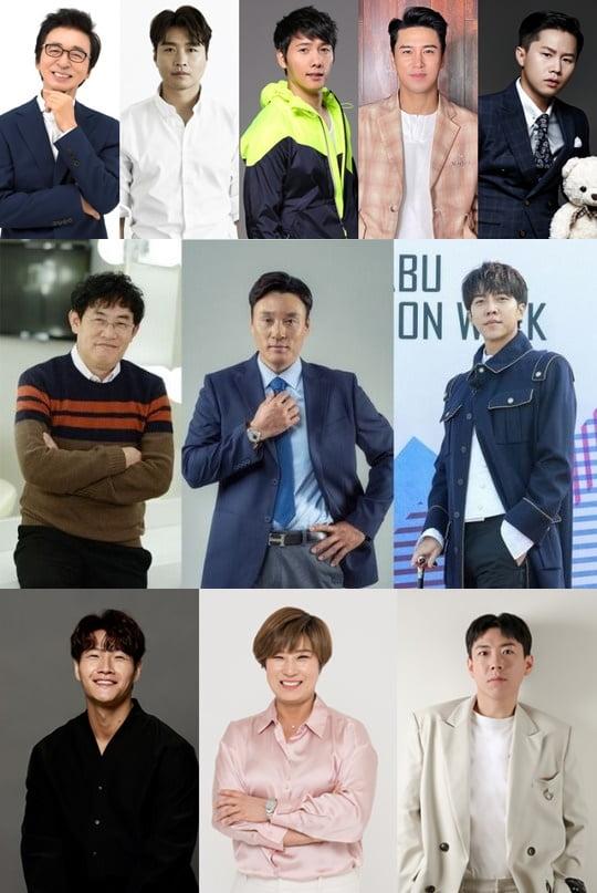 '골프 예능' 출연진 라인업/ 사진=TV조선, SBS, JTBC 제공