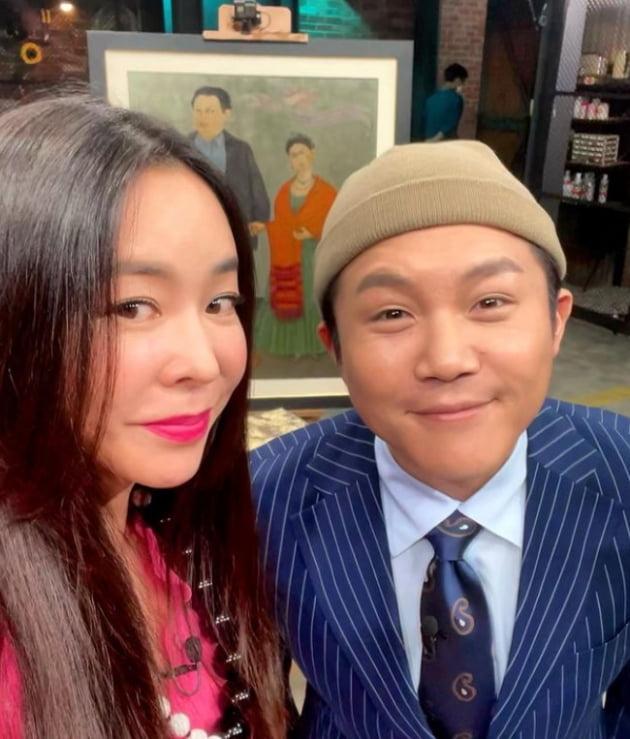 이혜영-조세호./ 사진=인스타그램