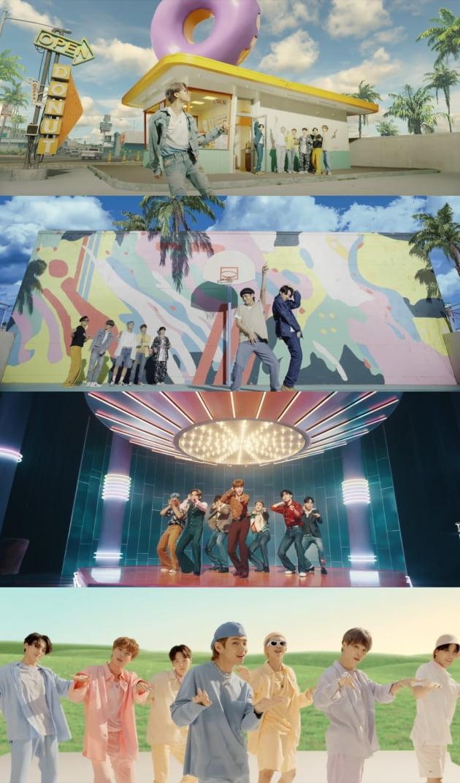 방탄소년단 'Dynamite' 뮤직비디오