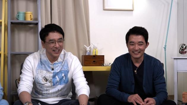 '옥문아들' 배우 김승우(왼쪽), 안재욱/ 사진=KBS2 제공