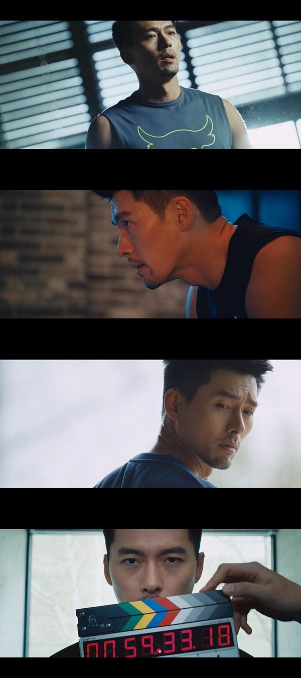 '메이킹 아머' 현빈/ 사진=tvN 제공