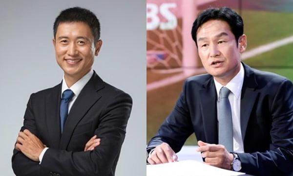이영표(왼쪽), 최용수 / 사진제공=대한축구협회, SBS