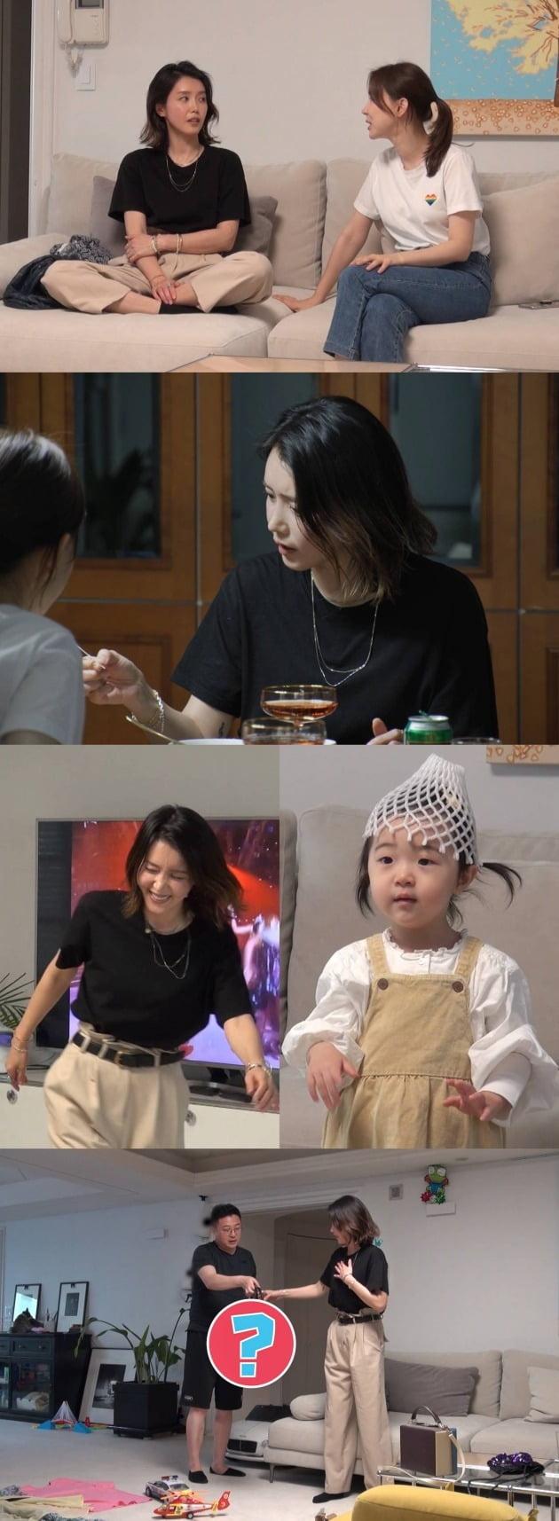'동상이몽2' 채정안X이지혜/ 사진=SBS 제공