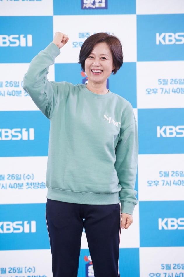 '운동맛집' 박미선/ 사진=KBS 제공