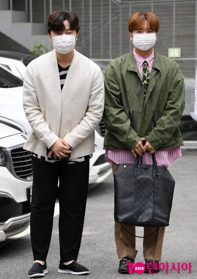 [TEN 포토] 라비던스 고영열-존 노 '화보가 따로없네'