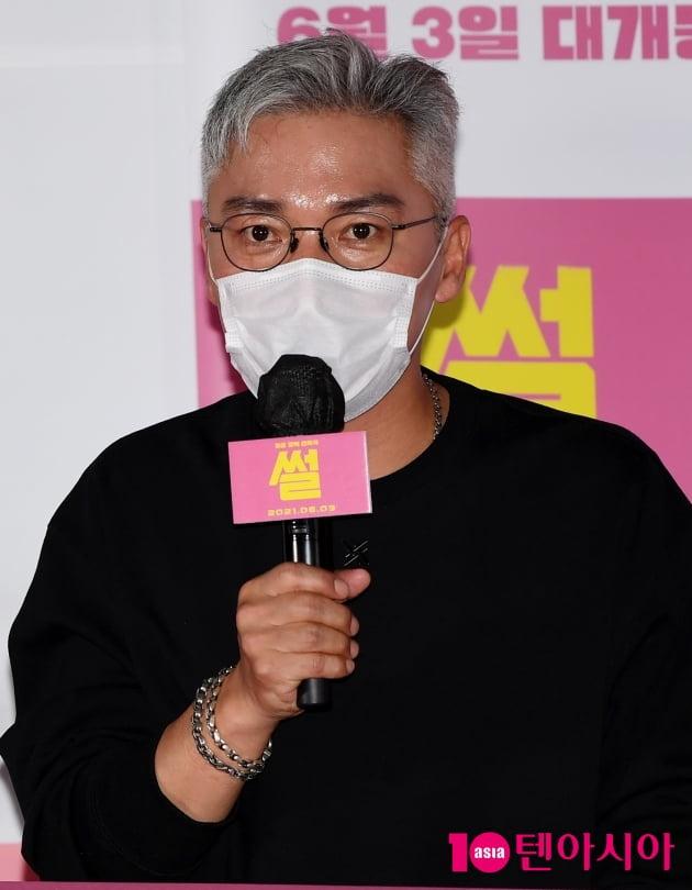 [TEN 포토] 조재윤 '영화 '썰''은 블랙 코미디다'
