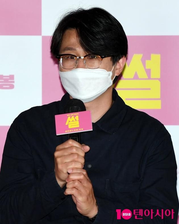 [TEN 포토] 황승재 감독 '배우들 케미가 좋았다'