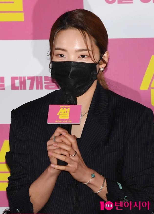 [TEN 포토] 김소라 '너무 친해져서...눈만 마주쳐도 웃음이 나왔다'