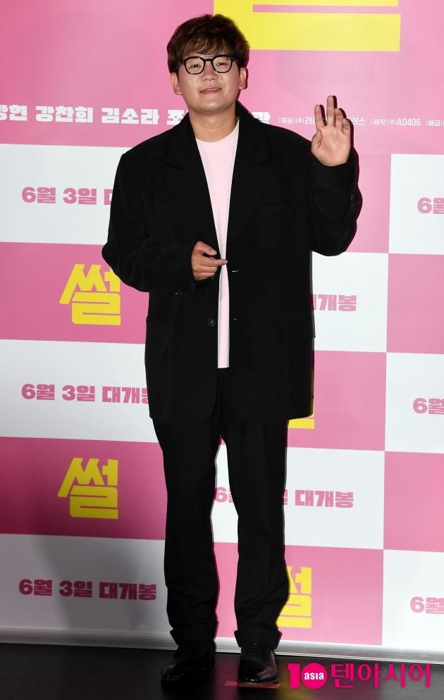 [TEN 포토] 김강현 '부드러운 인사'