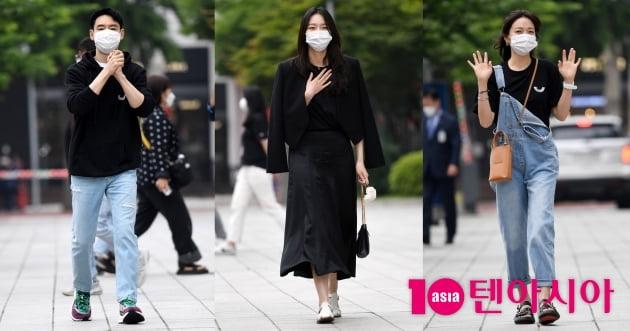 [TEN 포토] 이제훈-이솜-표예진 '시청률 공약 달성 컬투쇼 재출연 하러 왔어요'