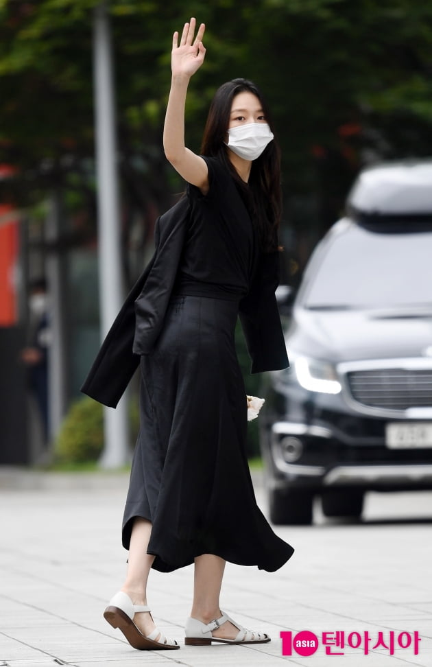 [TEN 포토] 이솜 '강검사 라디오에 갑니다'