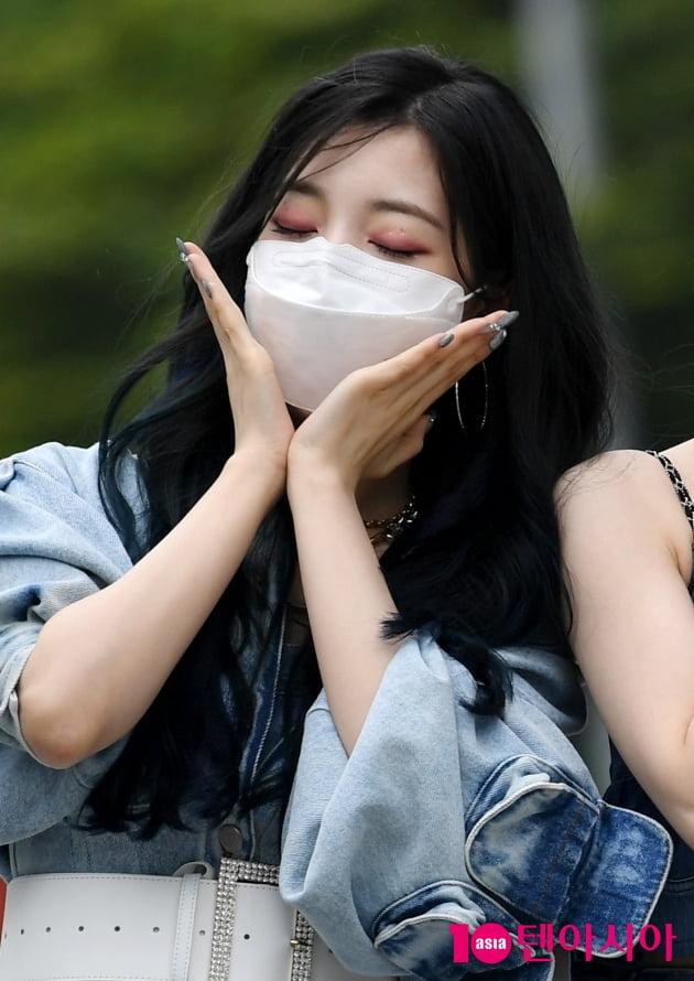 [TEN 포토] 로켓펀치 연희 '이쁜 꽃이 피었습니다'