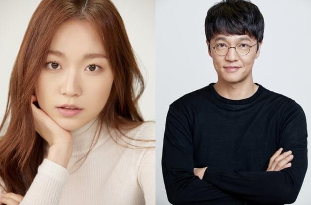 배우 김슬기(왼쪽), 조한철. /사진제공=눈컴퍼니