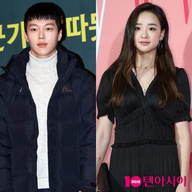 배우 장기용(왼쪽), 전 체조선수 손연재. /텐아시아DB