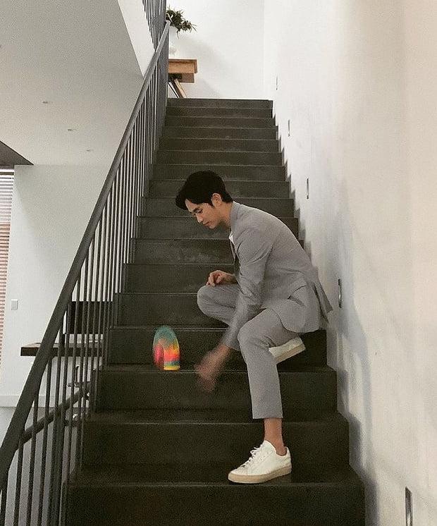 김수현, 동심으로 돌아간 소년 [TEN★]