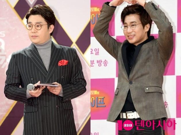 방송인 김태진(왼쪽), CCM 가수 유은성. /텐아시아DB