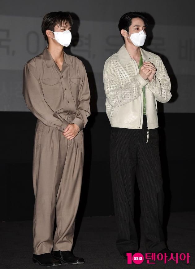 [TEN 포토] 서인국-이수혁 '참 보기 힘든 투샷'