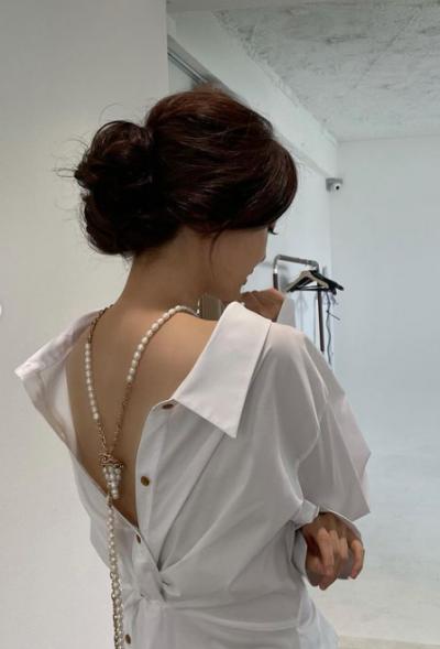 ♥오상진 눈감아…김소영, 거꾸로 입은 듯한 옷에 드러난 아찔 뒤태 [TEN★]
