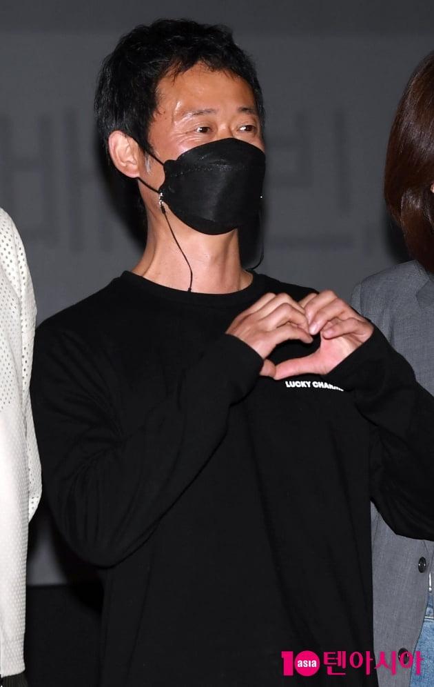 [TEN 포토] 유승목 '파이프라인은 사랑이 필요합니다'