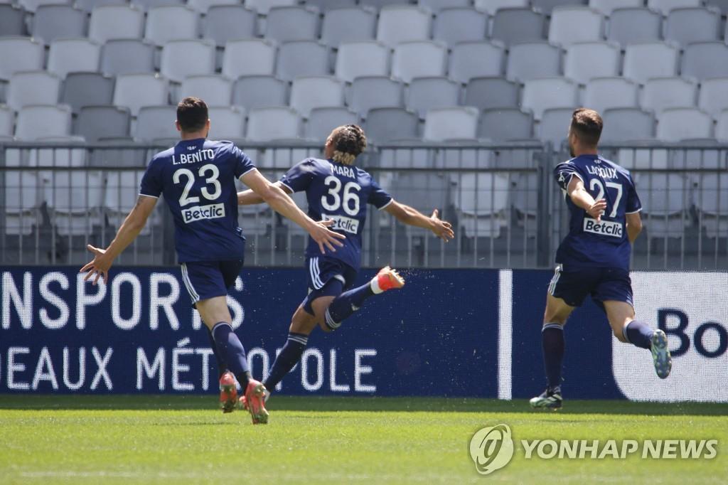 '황의조 3호 도움' 보르도, 렌에 1-0 신승…5연패 탈출(종합)