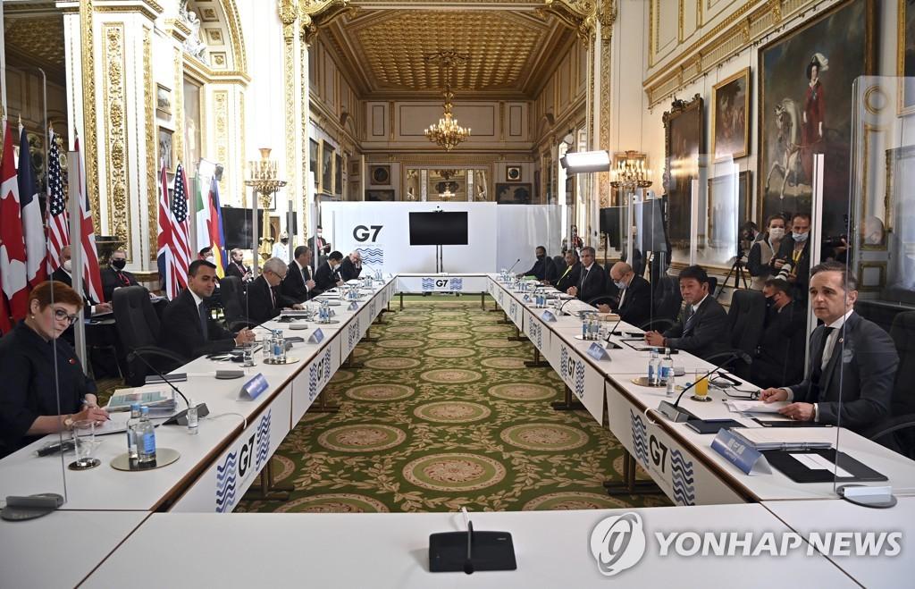 G7 외교·개발장관들, 코로나19 백신 빈곤국 공여 문제 논의