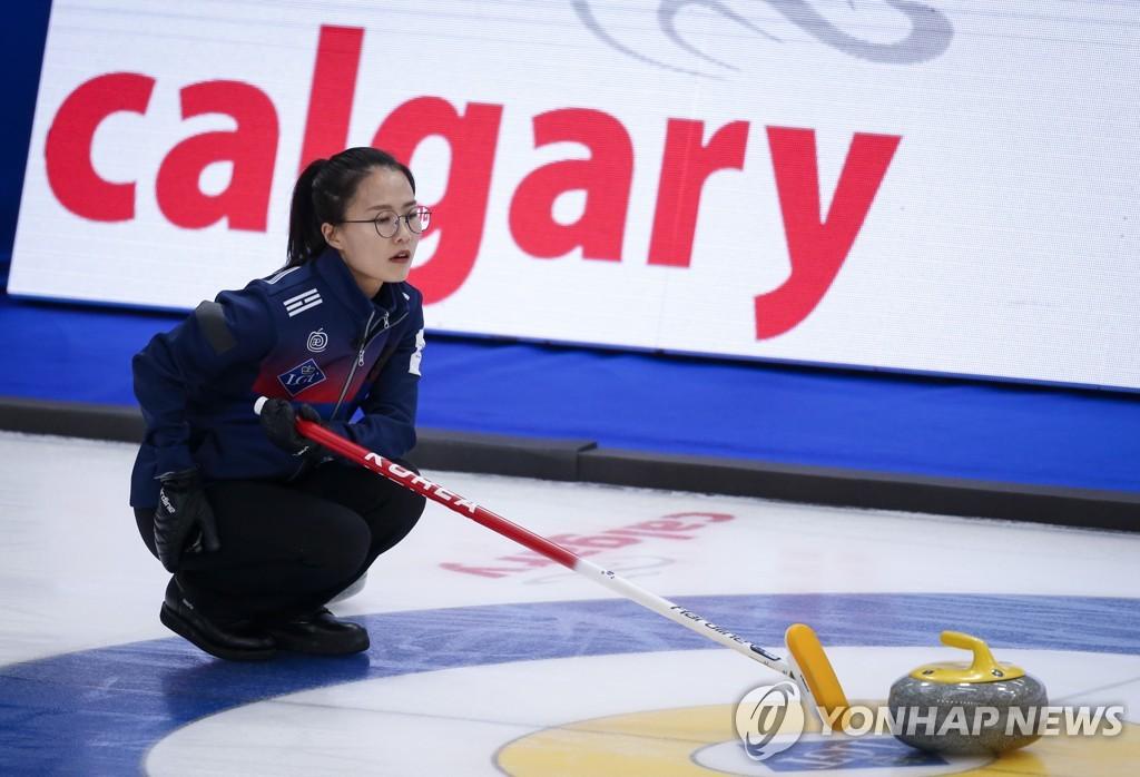 팀킴, 세계선수권 최종전 이겼지만…베이징 티켓 아쉽게 놓쳐