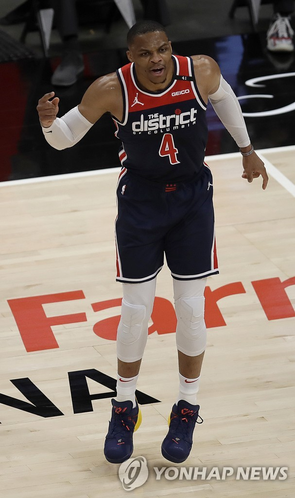 웨스트브룩, NBA 역대 최다 트리플더블 182개 신기록