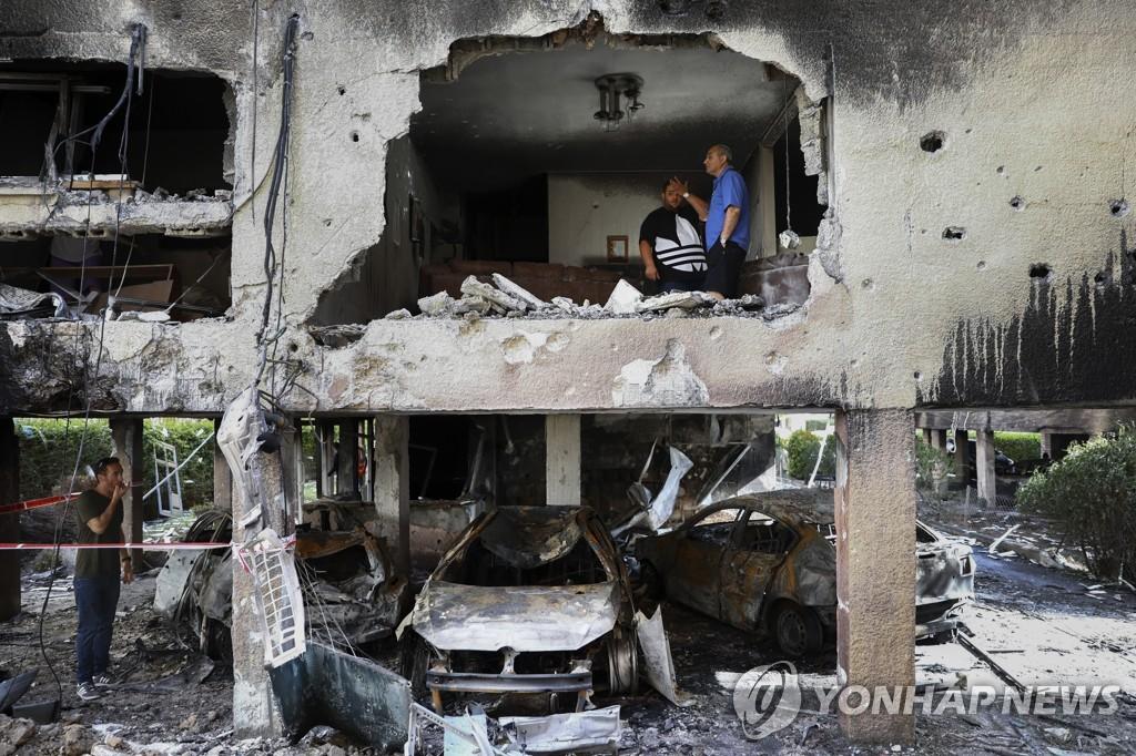 이스라엘-팔 충돌 사망자 90명까지…유대인-아랍인 집단 폭력(종합)
