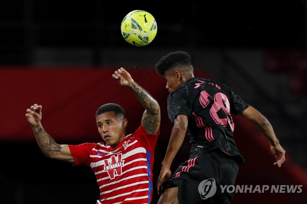 한국계 마빈 박, 라리가 1호 도움…레알 마드리드 '선두 추격'