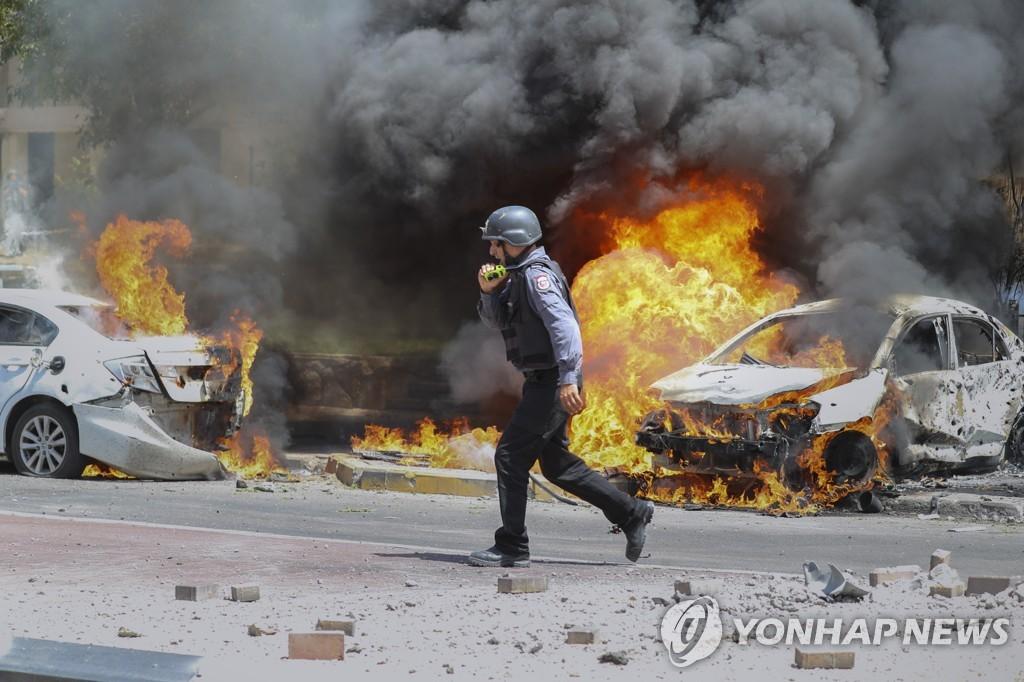 이스라엘-하마스 무력충돌 7일째…최소 163명 사망(종합2보)