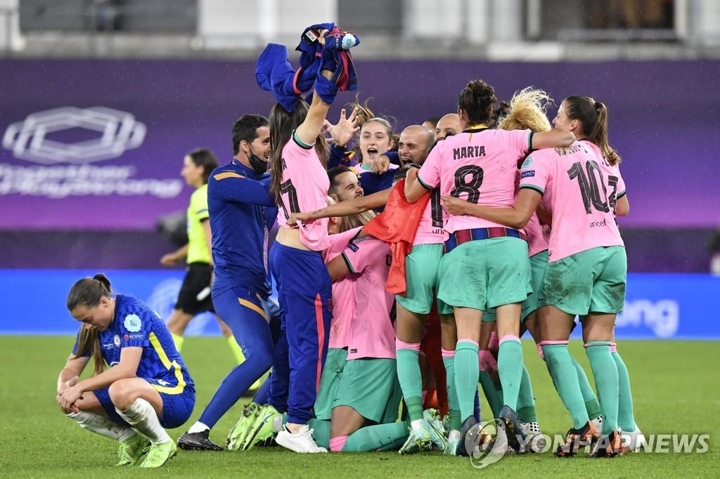 지소연의 첼시, UWCL 우승 좌절…결승서 바르셀로나에 0-4 완패