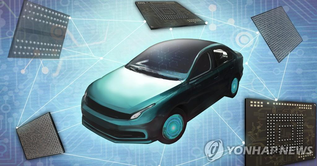 삼성전자·현대차, 차량용 반도체 수급난에 손잡는다