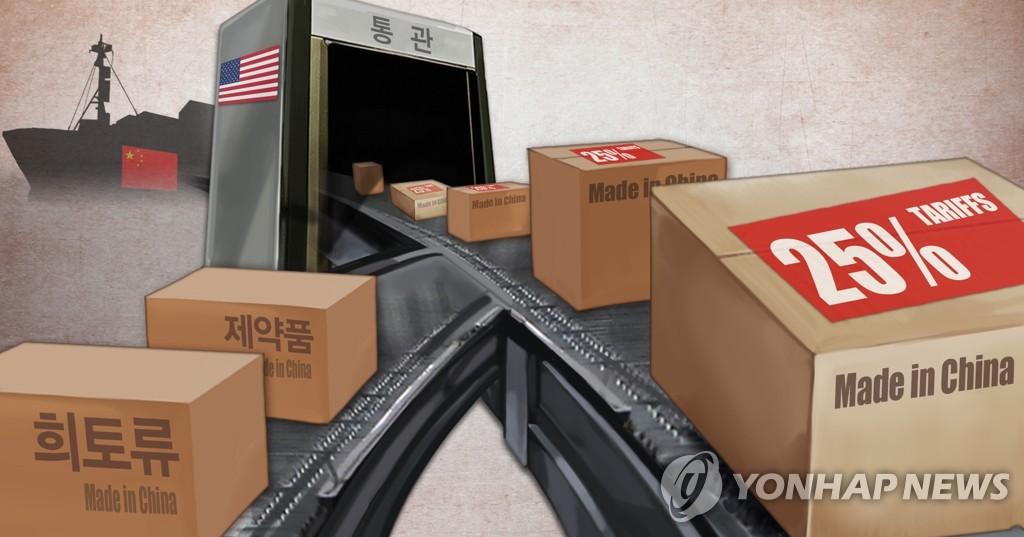 효과 낸 트럼프 관세 폭탄…중국의 대미 수출 75조원↓