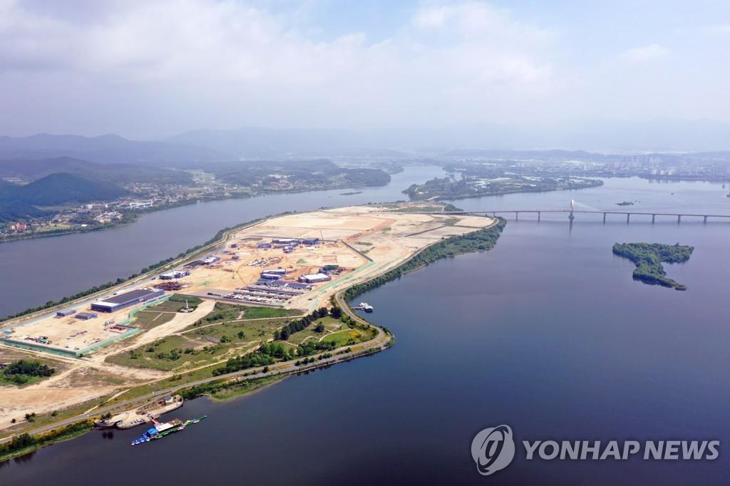 춘천 도심 건너 북한강 서면대교 건설될까 '관심'