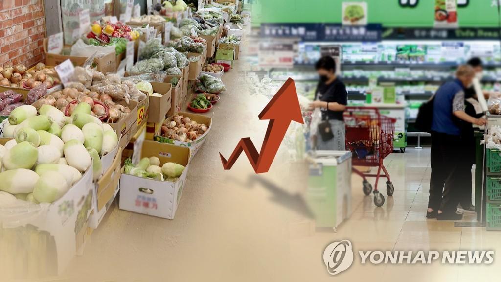 소비자물가 2.3%↑, 3년 8개월내 최고…농축산물·석유류↑(종합)