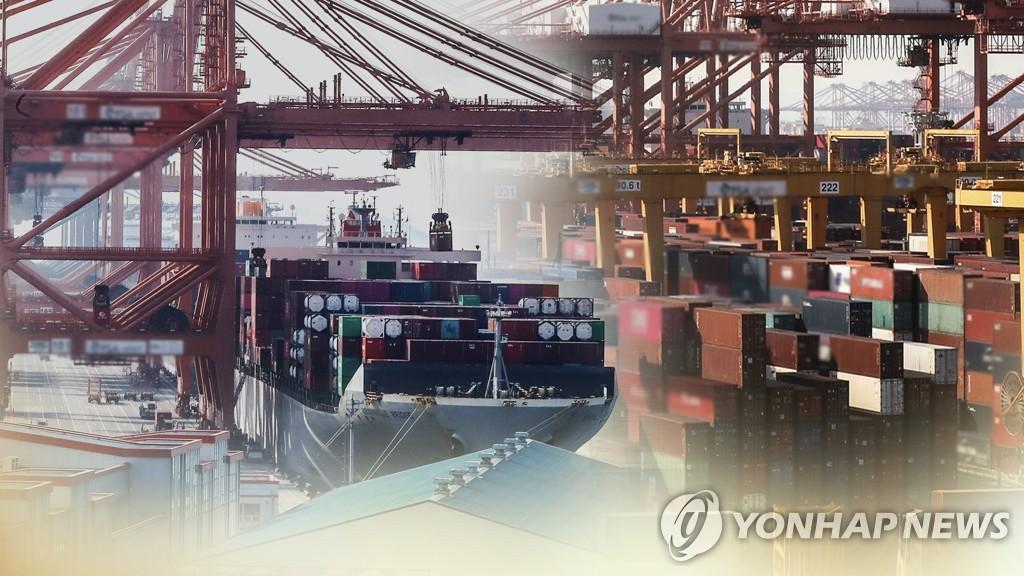 한국 수출, 코로나 본격화 1년 만에 '새 기록'