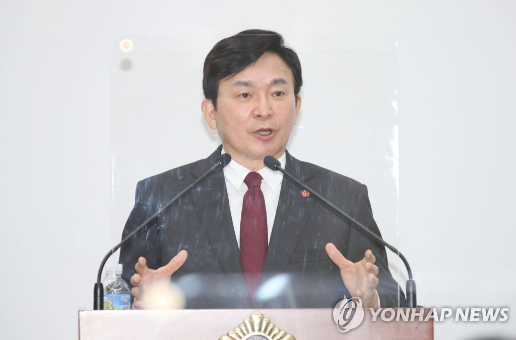 """원희룡 """"MB·朴구속·文발탁 후 갈라선 尹…그 입장 밝혀야"""""""