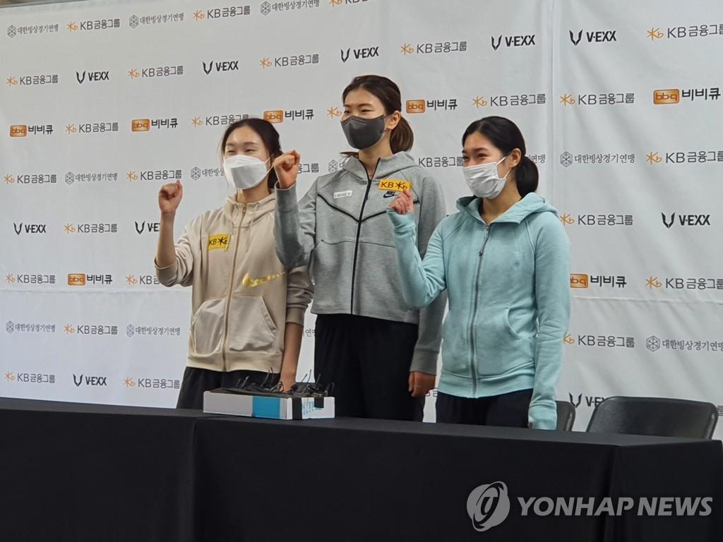 """태극마크 되찾은 심석희 """"3연속 올림픽 출전, 이제 좀 실감 나"""""""