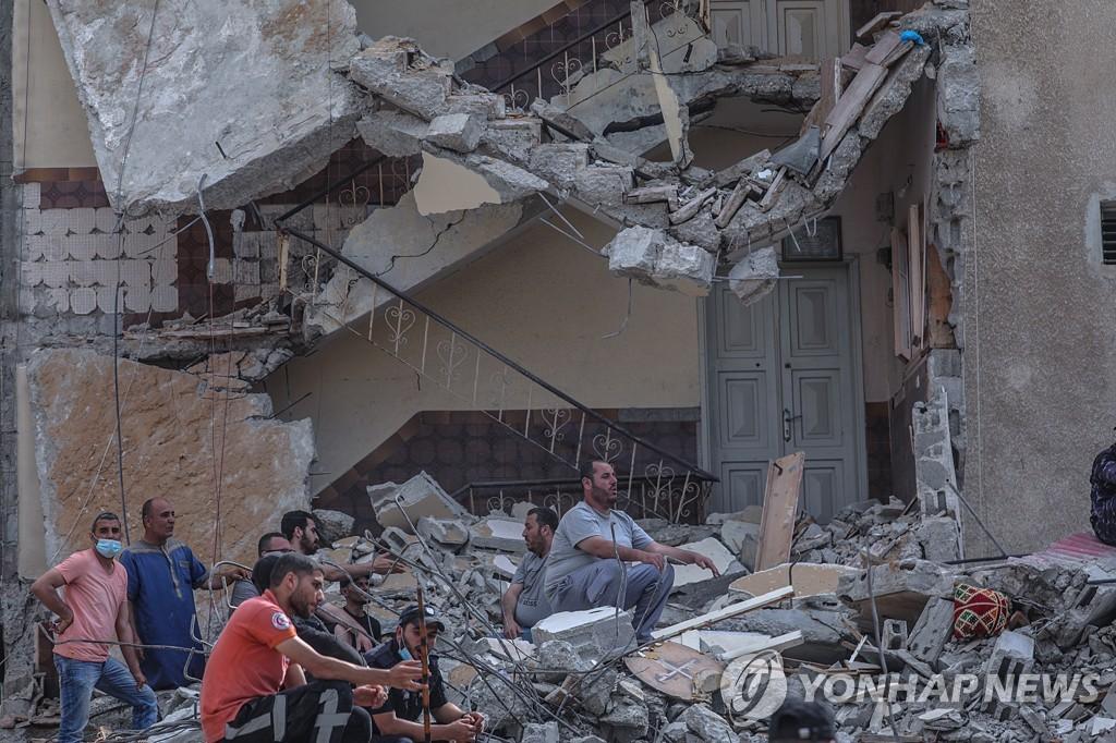이스라엘, 가자지구 8일째 맹폭…누적 사망자 200명 넘겨(종합)
