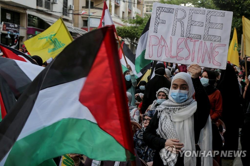 이·팔 사태 긴장 속 레바논서 이스라엘로 로켓포 발사