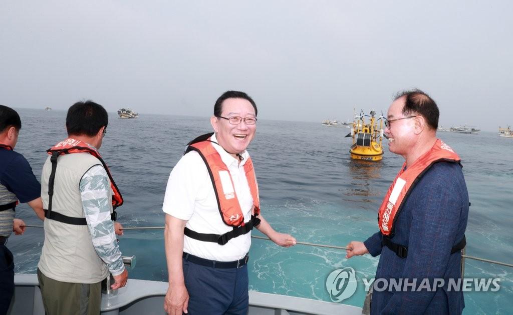 """""""울산의 바람, 세계 해상풍력 시장 이끌 것"""" 울산시 비전 선포"""